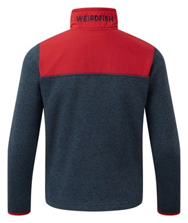 Hopper 1/4 Zip Soft Knit Fleece Sweatshirt Dark Navy