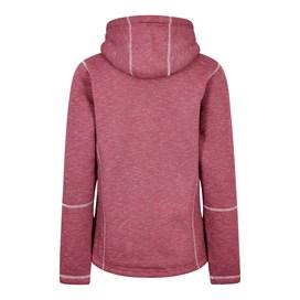 Jasmine Fur Knit Fleece Hooded Jacket Malaga