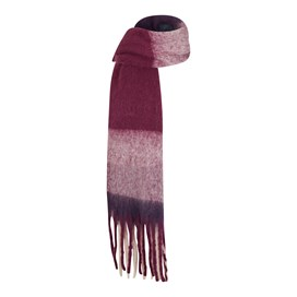 Katy Brushed Scarf Purple Potion