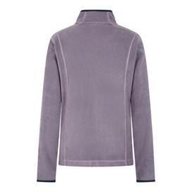 Christa Plain Fleece Jacket Dewberry