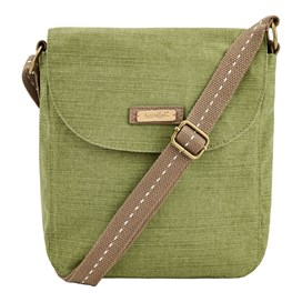 Loula Solid Cross Body Bag Pear