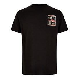 U Tuna Artist T-Shirt Steel Black