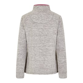 Larnee 1/4 Zip Plain Fleece Sweatshirt Grey