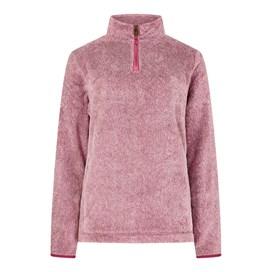 Maiya 1/4 Zip Plush Fleece Sweatshirt Malaga