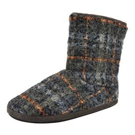 Alaska Check Slipper Boot Cement