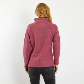 Geranium 1/4 Zip Classic Macaroni Sweatshirt Malaga