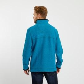 Parkway 1/4 Zip Tech Macaroni Sweatshirt Blue Jay