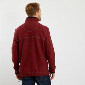 Parkway 1/4 Zip Tech Macaroni Sweatshirt Henna