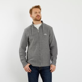 Ash Full Zip Classic Macaroni Jacket Cement