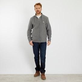 Ash Full Zip Classic Macaroni Jacket Cement