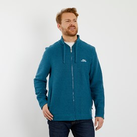 Ash Full Zip Classic Macaroni Jacket Deep Sea Blue