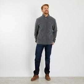 Ellroy Full Zip Fleece Jacket Cement