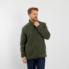 Ellroy Full Zip Fleece Jacket Dark Olive