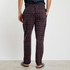 Tahoe Printed Jersey Loungewear Pant Navy