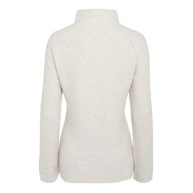 Fairview 1/4 Zip Light Macaroni Sweatshirt Ecru