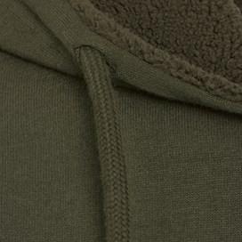 Rapid Full Zip Fleece Lined Hoody Olive Night