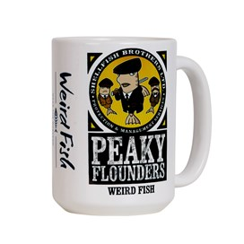Peaky Flounders Artist Mega Mug White