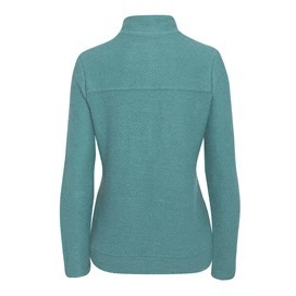 Ullen Full Zip Light Macaroni Sweatshirt Sea Green