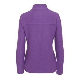 Ullen Full Zip Light Macaroni Sweatshirt Clematis