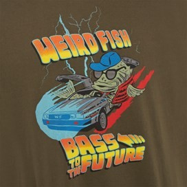 Bass To The Future Artist T-Shirt Olive Night