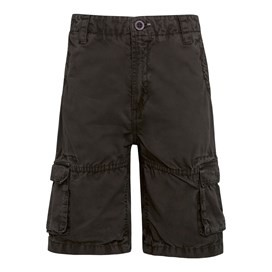 Uruco Cargo Short Dark Gull Grey