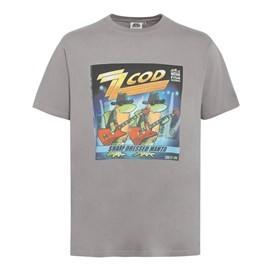 Zz Cod Artist T-Shirt Blue Pale Silver
