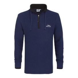 Paruiser 1/4 Zip Macaroni Mix Estate Blue