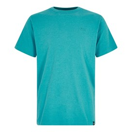 Fished Plain Branded T-Shirt Pagoda Blue