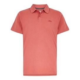 Quay Branded Polo Shirt Berry