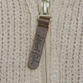 Lake 1/4 Zip Toasty Fur Fleece Ecru