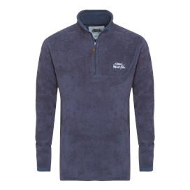 Lake 1/4 Zip Toasty Fur Fleece Rich Navy