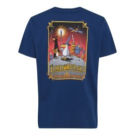 RSPB Lord of the Wings Artist T-Shirt Estate Blue