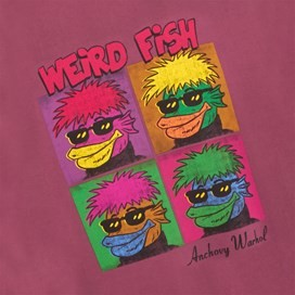 Anchovy Warhol Back Print Artist T-Shirt Soft Port