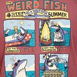 Four Step Guide Back Print Artist T-Shirt Soft Port