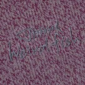 Totum 1/4 Zip Soft Knit Fleece Loganberry