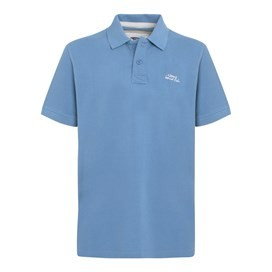 Barros Classic Pique Polo Shirt Airforce Blue