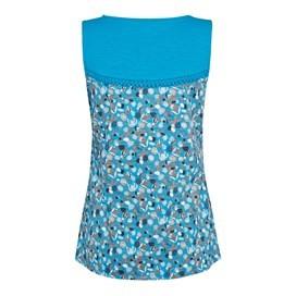 Tonala Printed Vest Top Vivid Blue