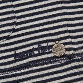 Weatherly Spots and Stripes Cardigan Navy