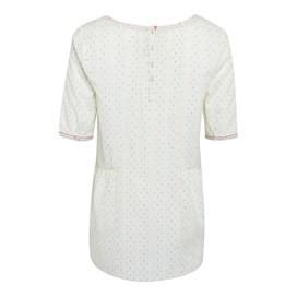 Sprit Cotton Dobby Tunic Ecru
