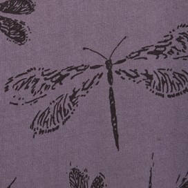 Cavos Dragonfly Print Jersey Shirt Peppercorn