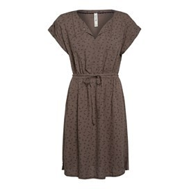 Reeve Printed Day Dress Peppercorn