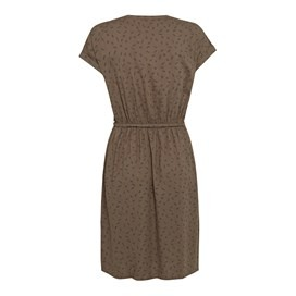 Reeve Printed Day Dress Khaki
