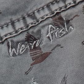 Talpa Printed Woven Skirt Slate