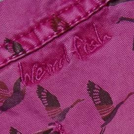 Talpa Printed Woven Skirt Magenta