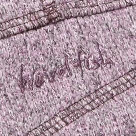 Salinas Soft Knit Emroidered Back Hoody Pale Violet