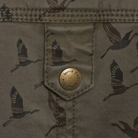Helm Funnel Neck Jacket Khaki