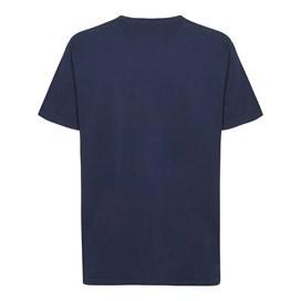Fins N Roaches Front Print Artist T-Shirt Dark Navy