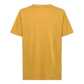 Fins N Roaches Front Print Artist T-Shirt Deep Amber