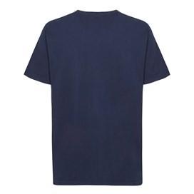 Beverley Gills Cod Front Print Artist T-Shirt Dark Navy