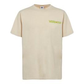 Haddock Collider Back Print Artist T-Shirt Oyster